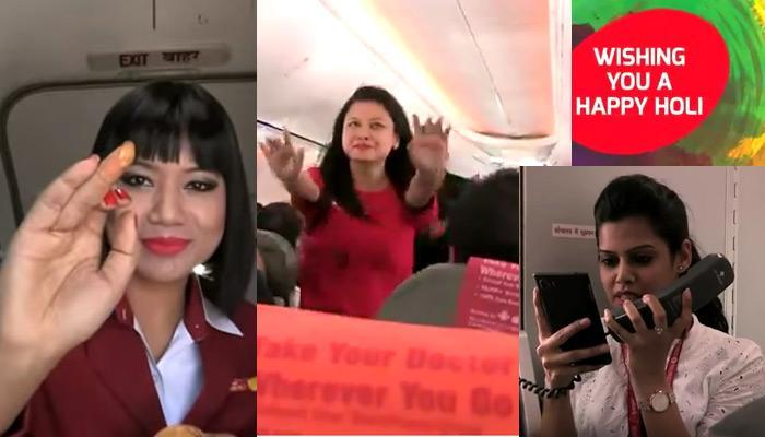 व्हिडिओ : स्पाईसजेटच्या विमानात क्रू मेम्बर्सनं लगावले ठुमके!