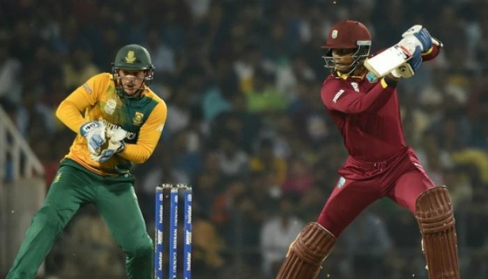 वेस्ट इंडिजचा दक्षिण आफ्रिकेवर विजय