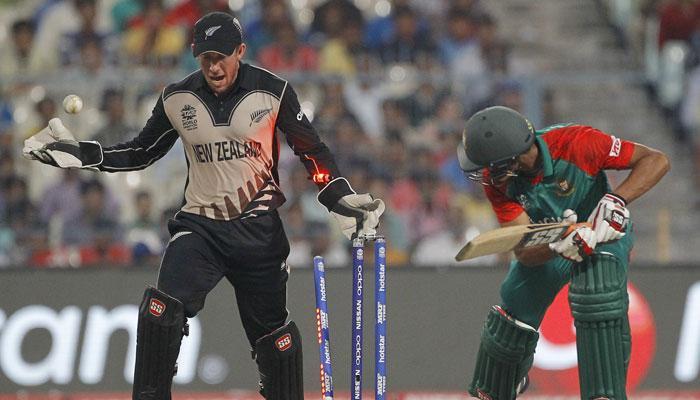 बांग्लादेश विरुद्ध न्यूझीलंड मॅचमध्ये नवा रेकॉर्ड