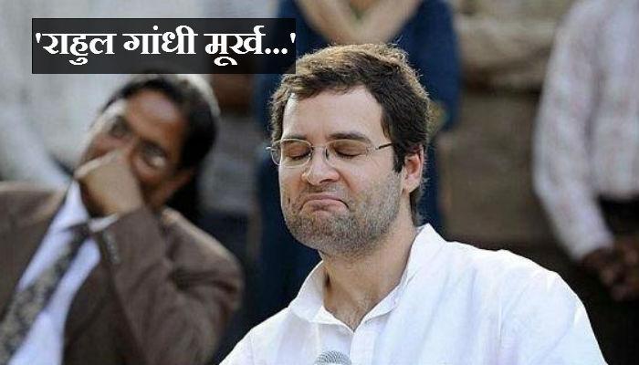 राहुल गांधी मूर्ख आहे, सुब्रह्मण्यम स्वामींचा पलटवार