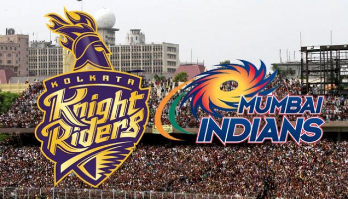 आयपीएल २०१६ : मुंबई इंडियन्स विरुद्ध कोलकाता नाईट रायडर्स