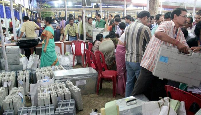 पश्चिम बंगालमध्ये दुस-या टप्प्यासाठी मतदान