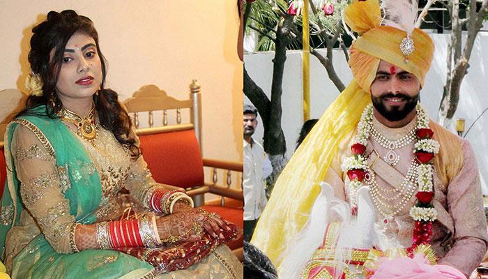 Ravindra Jadeja marries Reeva Solanki in Rajkot