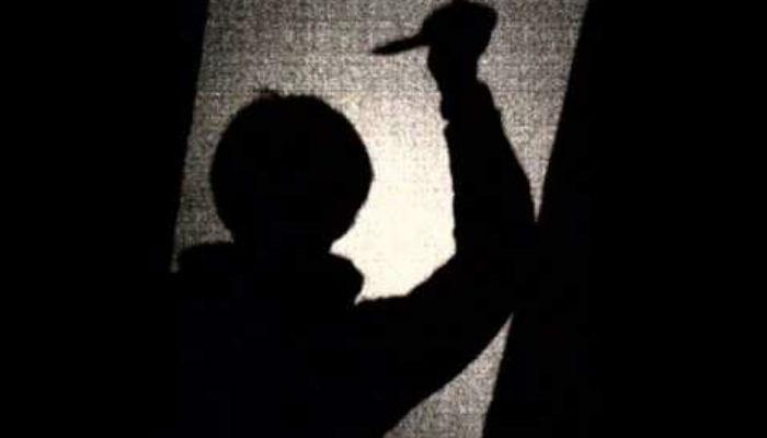 जन्मदात्रीच्याच हाताच्या नसा - गळा कापून मुलगा फरार