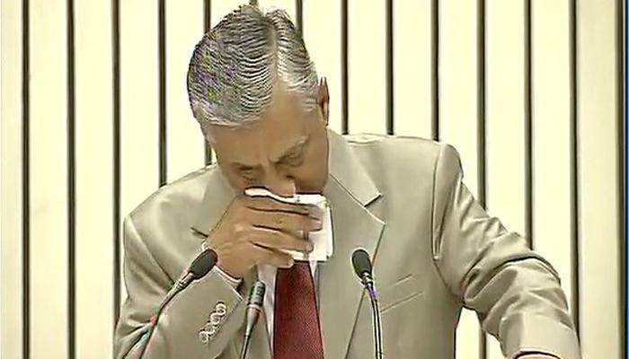 पंतप्रधान मोदी यांच्यासमोर भावूक झाले भारताचे मुख्य न्यायमूर्ती
