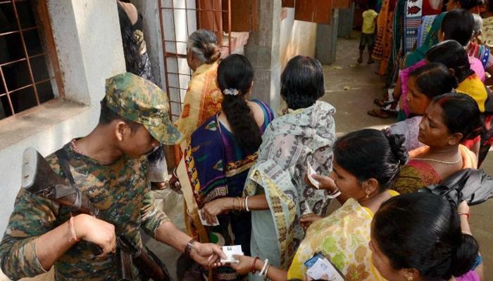 पश्चिम बंगालमध्ये चौथ्या टप्प्यासाठी आज मतदान