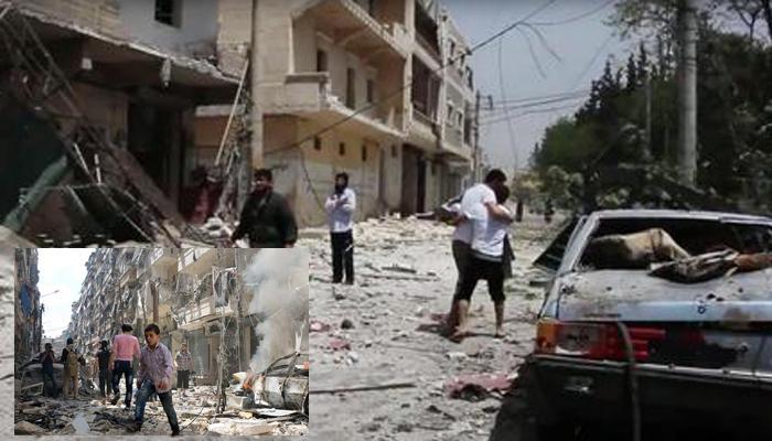 सीरियातील हवाई हल्ल्यात ३० ठार