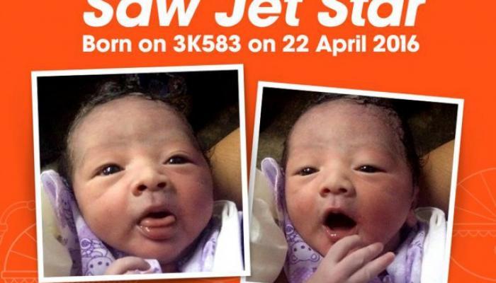 उडत्या विमानामध्येच तिनं दिला बाळाला जन्म