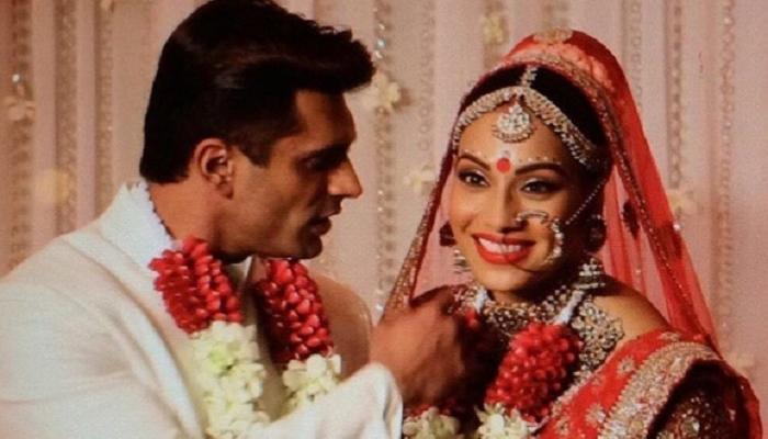 फोटो : बिपाशा - करणच्या लग्नातले काही क्षण...