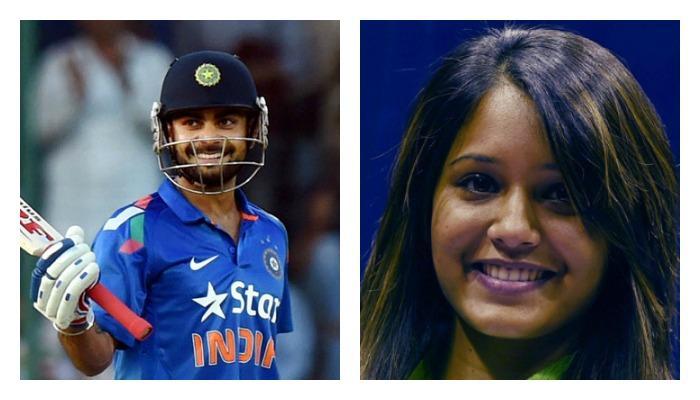 या भारतीय क्रिकेटरच्या बायकोकडून कोहलीला आव्हान