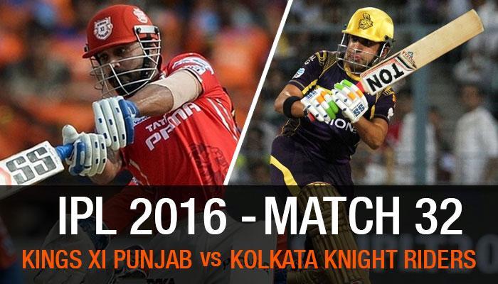 कोलकत्याचा पंजाबवर 7 विकेट्सनं विजय