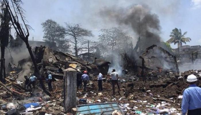 डोंबिवली स्फोट : अर्ध्या किलोमीटरवर परिसरातली घरं रिकामी करण्याच्या सूचना