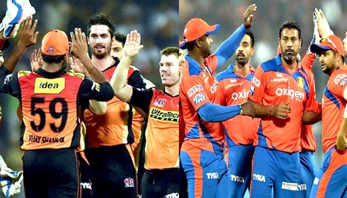 सनरायजर्स हैदराबाद-गुजरात लायन्समध्ये निर्णायक सामना