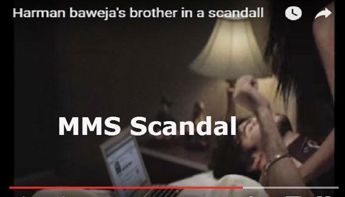 Shocking : हरमन बावेजाच्या भावाचा MMS लीक