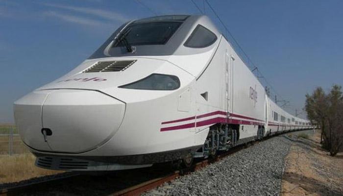 स्पेनच्या टेलेगो ट्रेनची पहिली चाचणी पूर्ण