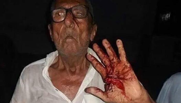 इफ्तारआधी जेवल्यामुळे वृद्ध हिंदूला बेदम मारहाण