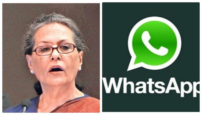 WhatsApp ग्रुपवर सोनिया गांधी यांचा आपत्तीजनक फोटो, हाणामारीत एकाचा मृत्यू