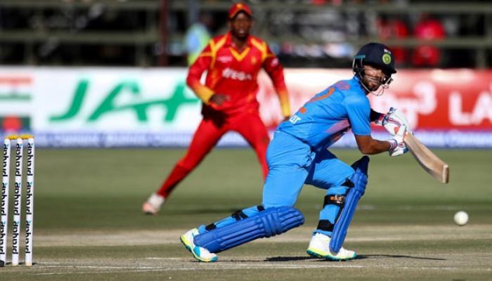 भारताने झिम्बाब्वेला २-१ ने टी २० सिरीज जिंकली