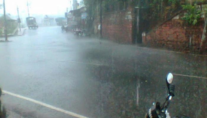 कोकणात मुसळधार पाऊस