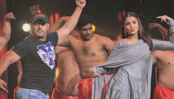 सलमान खान 'सैराट'मधील झिंगाट गाण्यावर नाच नाच नाचला