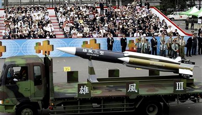 'चुकून' तैवाननं चीनच्या दिशेनं सोडली सुपरसोनिक मिसाईल!