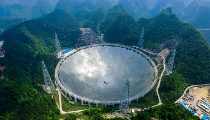 चीनमध्ये बनली जगातील सर्वात मोठी दुर्बिण