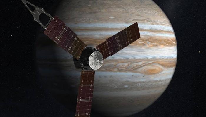 'जुनो'च्या गुरू ग्रहाभोवती घिरट्या सुरु