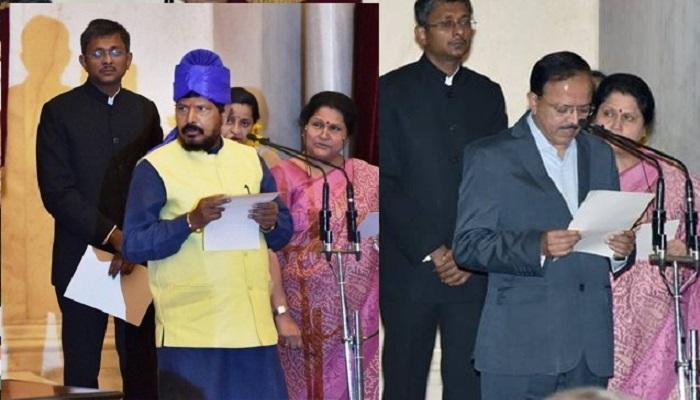 महाराष्ट्राच्या वाट्याला ३ मंत्रीपदं