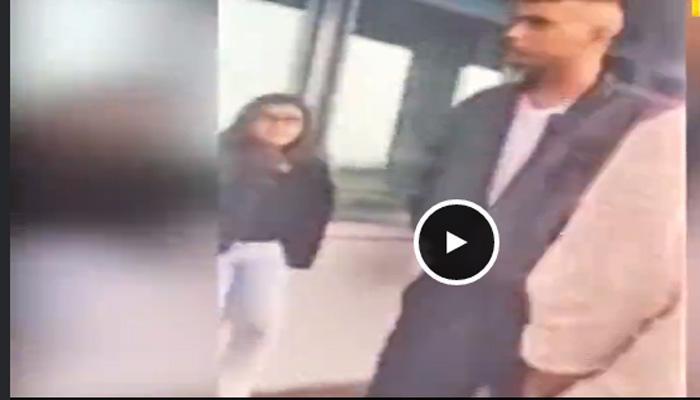 व्हिडिओ : भररस्त्यात मुलीला जबरदस्तीनं किस करण्याचा प्रयत्न