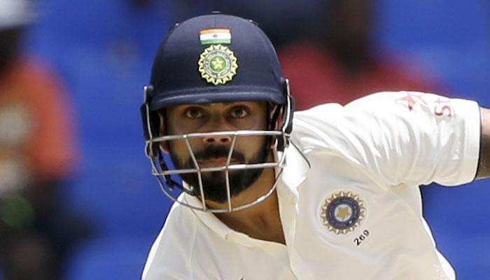 वेस्ट इंडिजविरुद्धच्या टेस्टमध्ये कोहलीची डबल सेंच्युरी