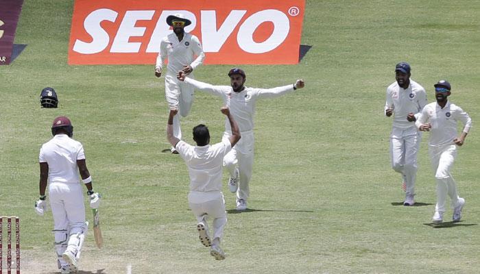 भारताचे अँटिग्वा टेस्टमधील १० रेकॉर्ड...