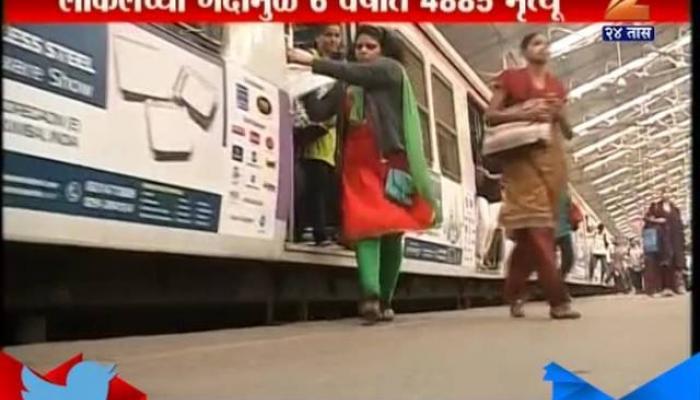 मुंबई लोकल ट्रेनबाबत कॅगचा धक्कादायक रिपोर्ट