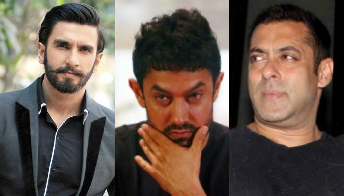 आमिर, रणवीर, सलमानसारख्या 'करचुकव्या' कलाकारांना सीबीईसीकडून नोटीस