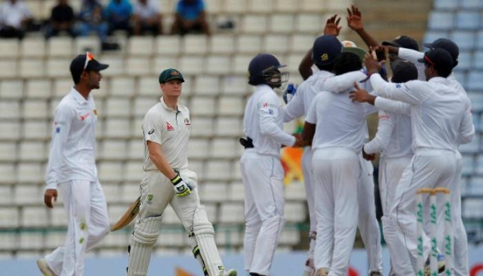 17 वर्षांनंतर श्रीलंकेनं ऑस्ट्रेलियाला लोळावलं