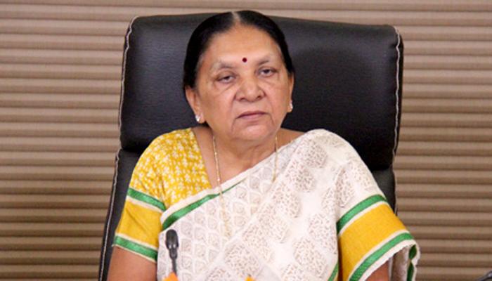 गुजरातच्या मुख्यमंत्री आनंदीबेन पटेल यांचा राजीनामा मंजूर
