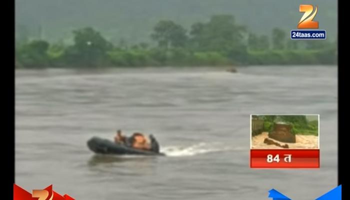 महाड पूल दुर्घटना : शोधकार्यात स्थानिक मच्छिमारांची मोठी मदत