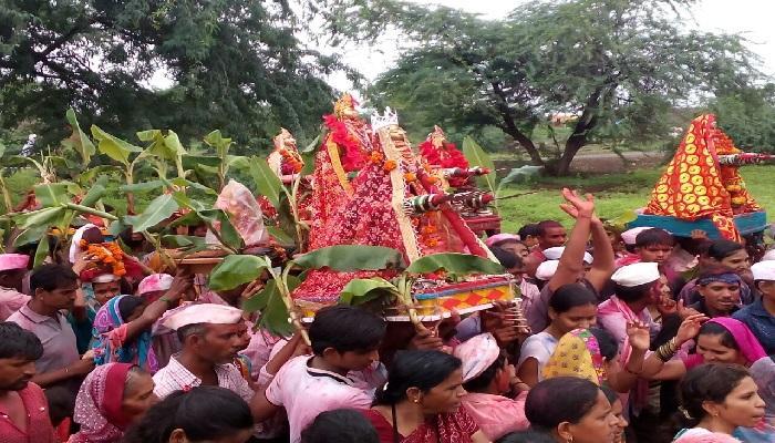 खान्देशात कानबाई मातेचा उत्सव मोठ्या हर्षोलासात साजरा