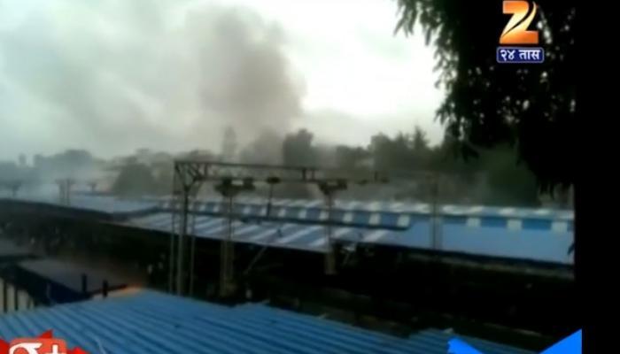 विरार स्टेशनवर आगीने सिग्नल यंत्रणा कोलमडली, परेची वाहतूक विस्कळीत
