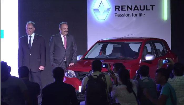 Renaultची 1000 सीसी ची नवी KWID कार लॉन्च,  किंमत 3.95 लाख रुपये