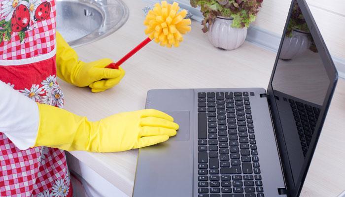 Video : आपला लॅपटॉप कसा ठेवाल क्लिन ?