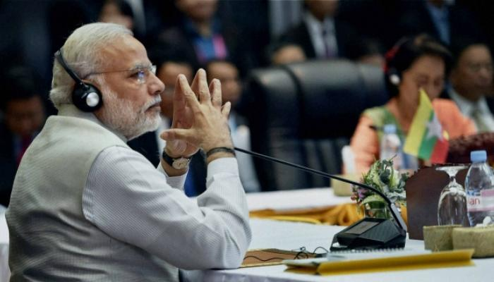 मोदींचे एकाच दगडात दोन पक्षी, पाकिस्तान-चीनला खडसावलं