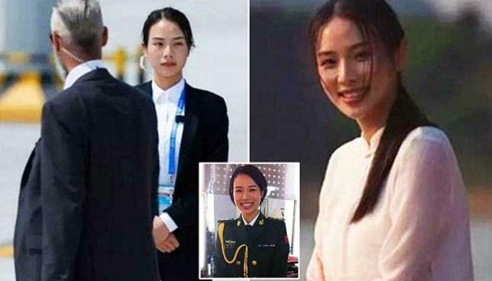 ...ही आहे चीनची सर्वात 'सुंदर महिला बॉडीगार्ड'