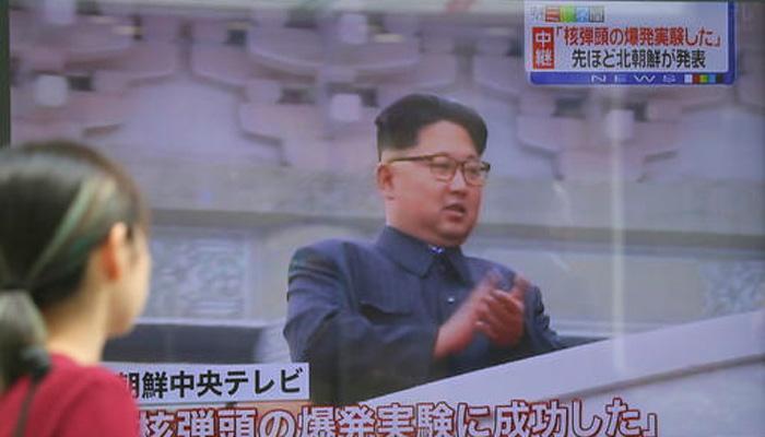 उत्तर कोरियाने केली पाचवी अणू चाचणी