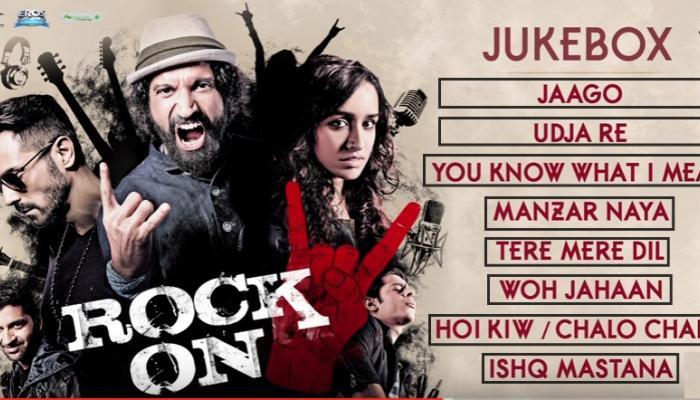 'रॉक ऑन टू' सिनेमाची सर्व गाणी एका क्लिकवर