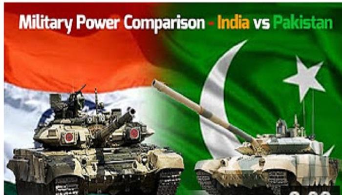 भारत पाकिस्तानच्या सैन्य ताकदीची तुलना