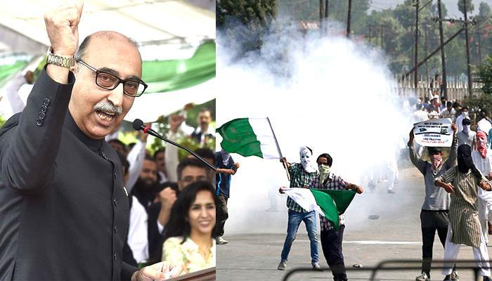 कश्मीरवर पाकिस्तानाचा सूर बदलला.... पाहा काय म्हटले पाक उच्चायुक्त