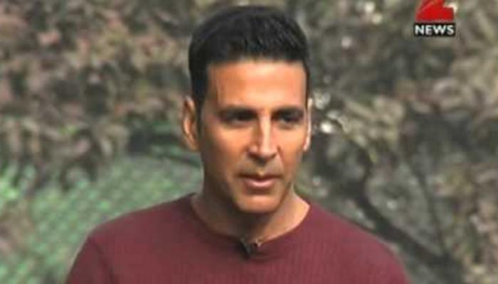 अक्षय कुमार म्हणतो, भारतीय लष्कराचा मला गर्व आहे