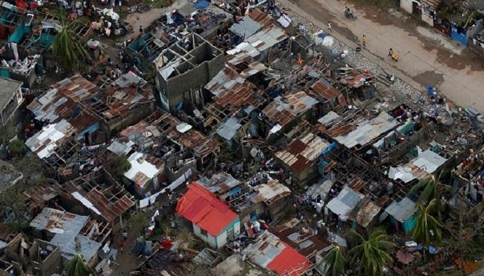 मॅथ्यू चक्रीवादळाने हैतीमध्ये 283 जणांचा बळी