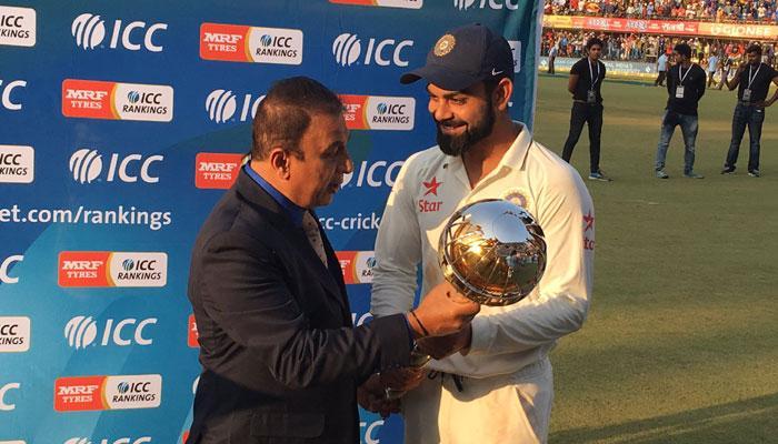 आयसीसी टेस्ट चॅम्पियनची गदा भारताकडे