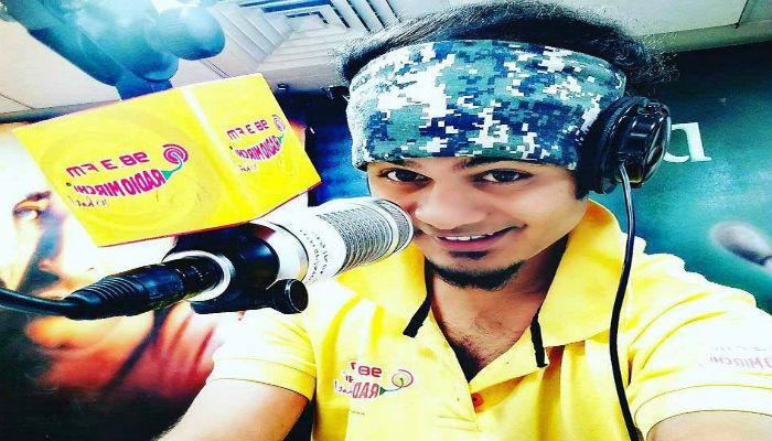 'लाईव्ह शो'वेळी रेडिओ जॉकीचा मृत्यू